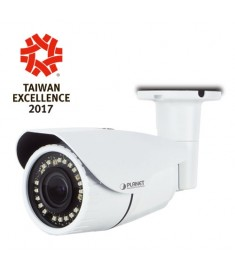 3 Mega-pixel Bullet IR IP Camera with Remote Focus and Zoom